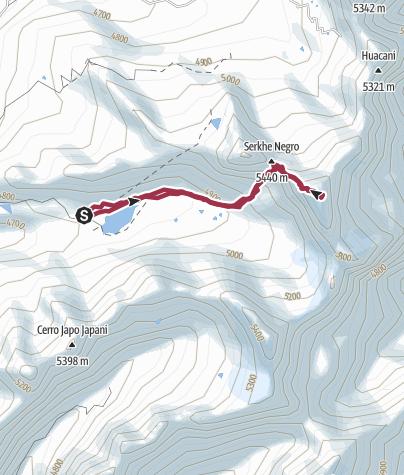Mapa / Treck to Serqui Kollu 2 jun. 2019 8:25:02