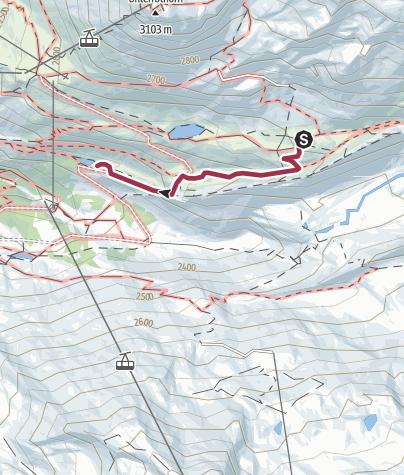 Mapa / Aliaga - ALPES / Grindjisee - Flue