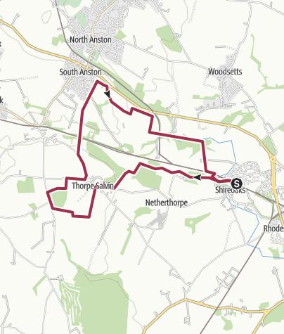 Map / Loscar Wood, South Anston
