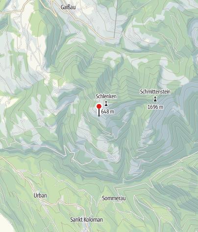 Map / Zillhütte ~1375m