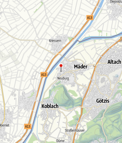 Karte / Alamannen-Museumsdorf