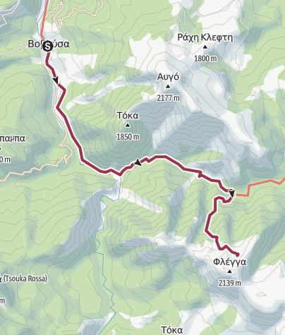 Carte / Zagoris-Pindos-6_2306_refuge_via kalda-Lac Flenga