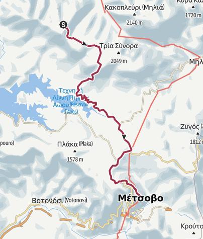 Térkép / Zagoris-Pindos-7_2406_Lac Flenga -Métsovo