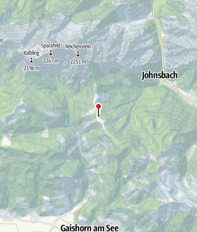 Karte / Mödlinger Hütte, 1.523 m