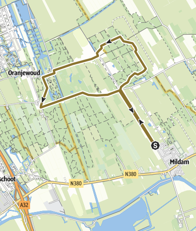 Map / Route, 6 apr. 2020 12:55:40