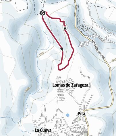 Mapa / Vuelta al Mirador