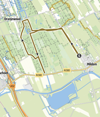 Map / Route, 3 apr. 2020 21:19:39