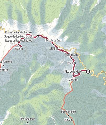 Mappa / Roque de los Muchachos 8 ago 2017 9:53:56 AM