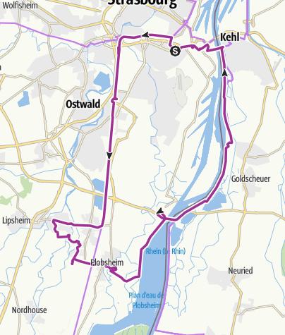 Map / Tour des Fermes