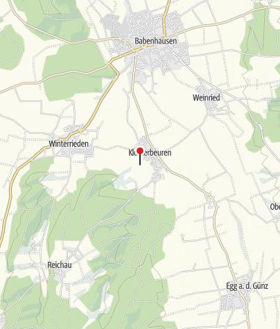 מפה / Minigolf Klosterbeuren