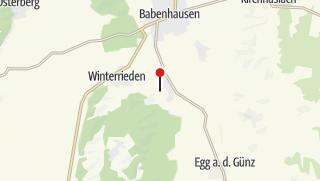 Karte / Minigolf Klosterbeuren