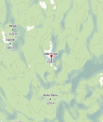 Map / Mountain lodge Schlosserov dom