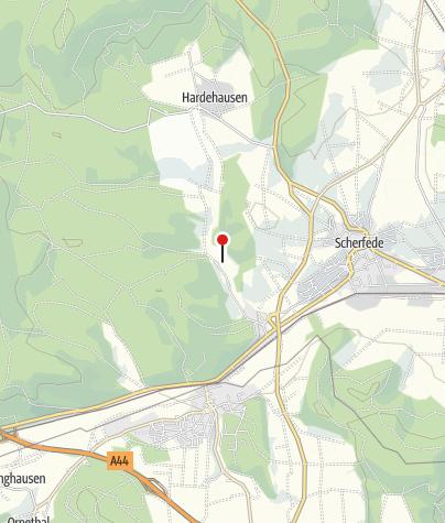 Karte / Wald-Informationszentrum Hammerhof