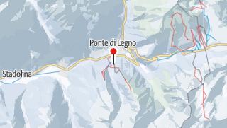 Map / Ponte di Legno - Temù