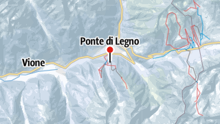 Karte / Ponte di Legno - Temù