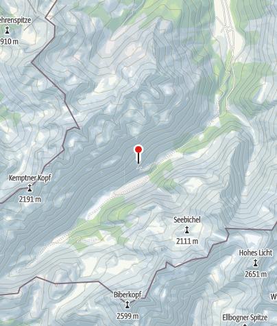 Karte / Vorderberghöfle