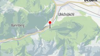 Karte / Jausenstation Galitzenklamm