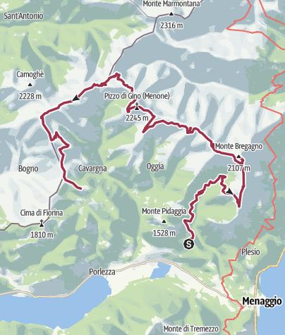 Mappa / Alta Via del Lario