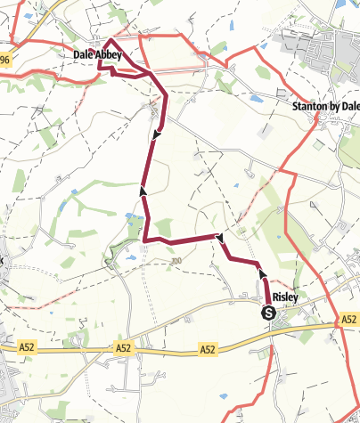 Map / Risley circular Track 25 Jul 2016 13:11:31