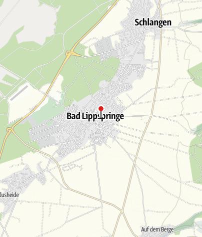 Karte / Arminiuspark Bad Lippspringe