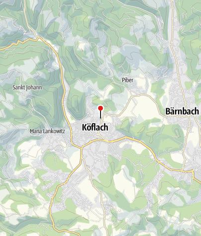 Karte / Minigolfanlage Köflach