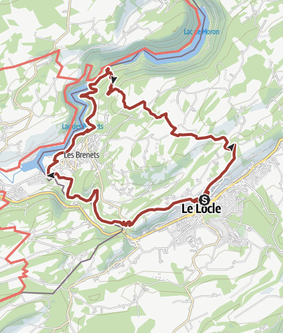 Karte / Natura Trail Doubs - 1