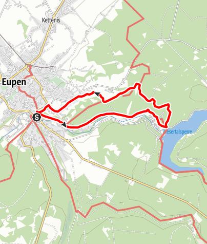 "Karte / Genusstour 24 - ""Hertogenwald"" Eupen"
