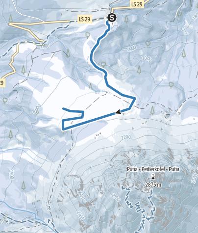 Karte / Roda de Börz