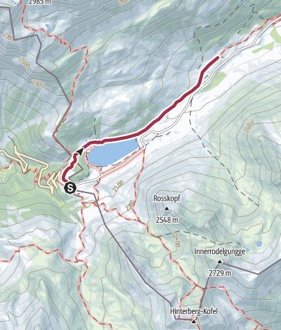 Mappa / Escursione per la Staller