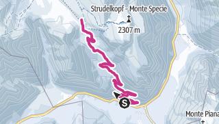 Map / Winter walking tour: Carbonin - Prato Piazza