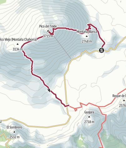 Mappa / Pico del Teide 13 ago 2017 7:20:55 AM