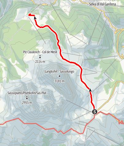 Karte / Wanderung Naturonda durch die Steinerne Stadt
