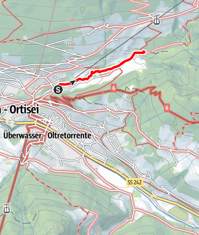 Map / Anna valley trail