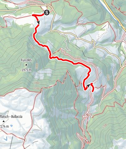 Map / Geotrail Bulla