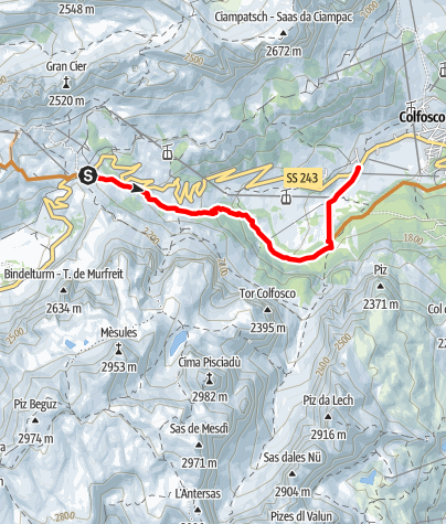 Mappa / Single Trail Frara