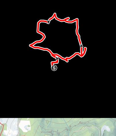 Karte / Wanderung zu den Bauernhöfen in La Val