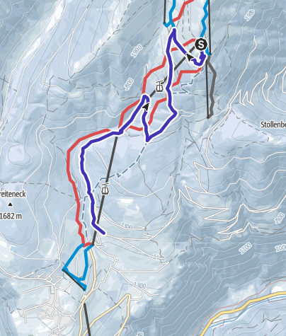 Cartina / NUOVO:BRIMI Winter Run Gitschberg Maranza