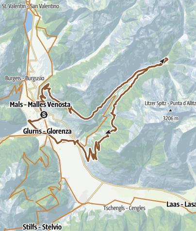 Map / Matscher Raubritter Tour