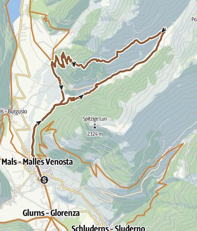Map / Planeiler Alm Tour