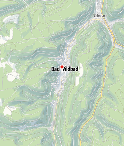 Map / Vital Thermal Spa - Bad Wildbad