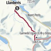 Map / Mount Snowdon