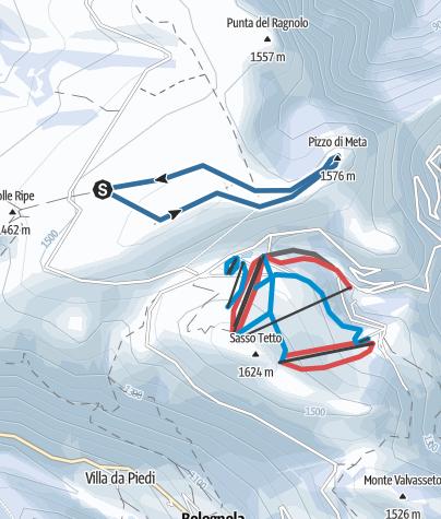 Map / Pizzo Meta