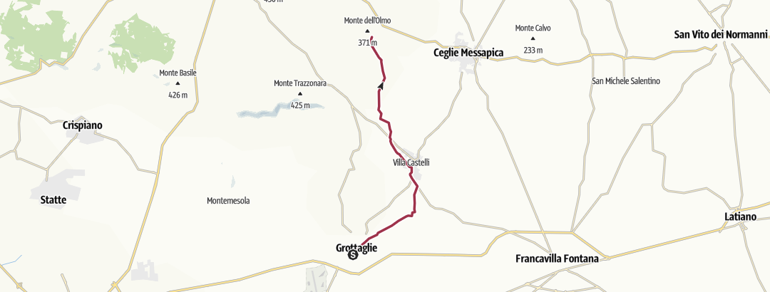 Mapa / 120 - SI Tappa R01 Puglia