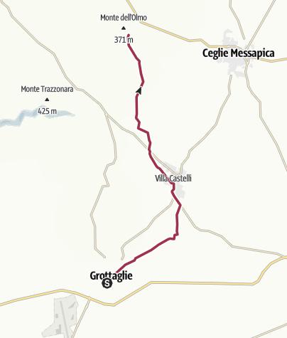 Карта / 120 - SI Tappa R01 Puglia