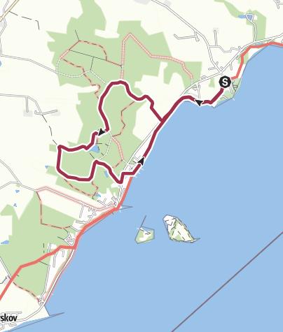 Mapa / Route, 23/08/2018 08.49.55