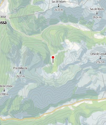 Mappa / Malga di Munciogn