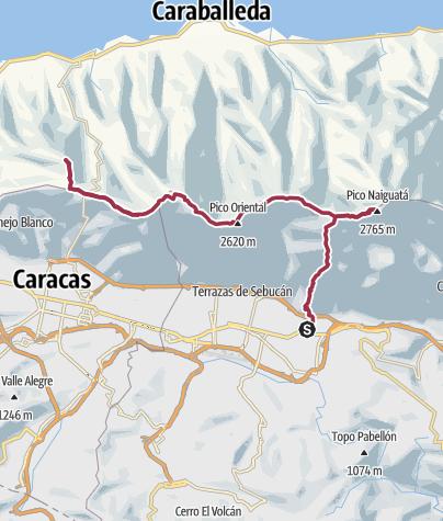 Mapa / 5 Cumbres (Nocturnal Animals)