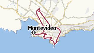 Map / Montevideo City Walk