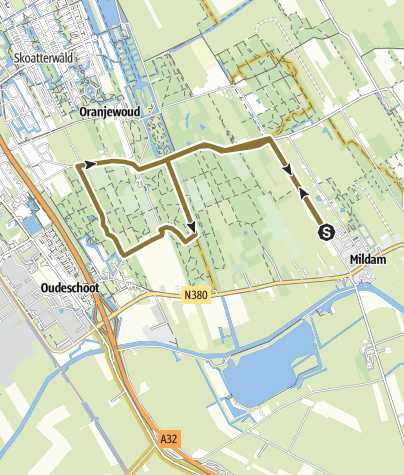 Map / Route, 5 apr. 2020 05:28:53