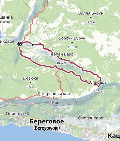 Mapa / Родниковское